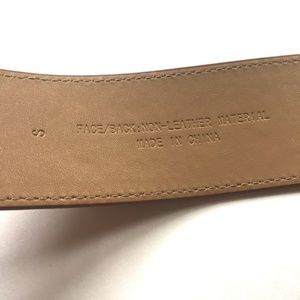 Target Accessories - Wide Brown Belt Size Small
